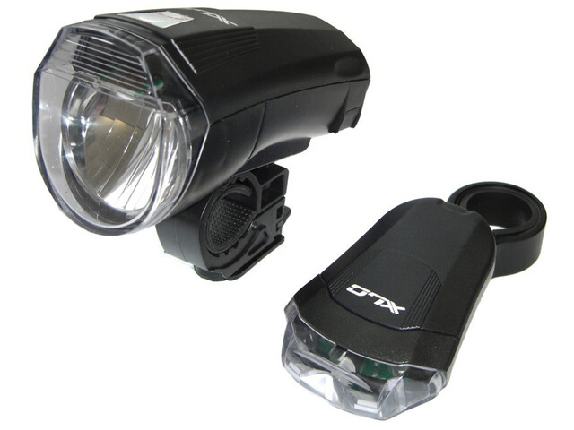 XLC CL-S14 LED Battery Light Set StVZO, black
